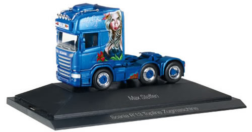 Herpa 110884 - Scania R TL Tractor P.C. Max Steffen