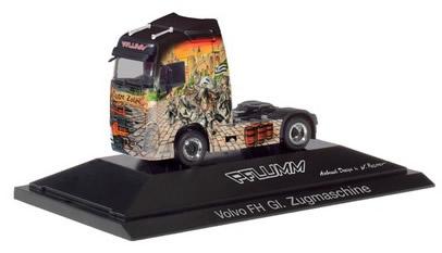Herpa 110983 - Volvo FH Gl. Tractor P.C. Pflumm Castro Zolre