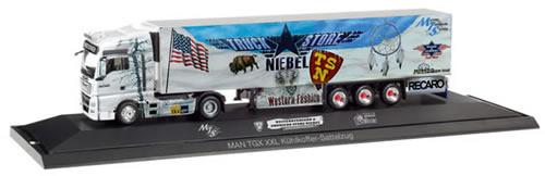 Herpa 121781 - MAN TGX Reefer Semi P.C. Truck Store Neibel