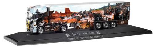 Herpa 121842 - Scania CS 20, Reefer Semi P.C. Heide Logistik