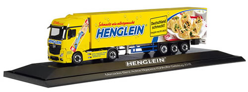 Herpa 121927 - Mercedes Actros Reefer Semi Henglein