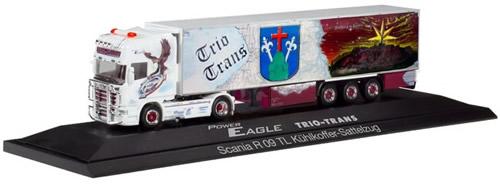 Herpa 121965 - Scania R TL Reefer Semi Trio-Trans, Eagle