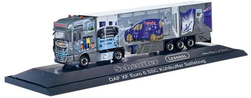 Herpa 121972 - DAF XF Facelift, Semi Scheufler/Lesonal