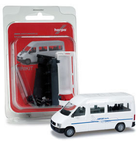 """Herpa 12584 - VW LT 2 Bus High roof """"Airport Shuttle"""""""