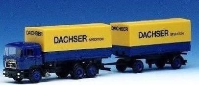 Herpa 140560 - MAN F90 (29.95) Truck/Trailer Dachser