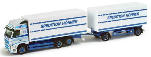 Herpa 157384 - Volvo FH3 GL Truck/Trailer (45.50) Hoehner