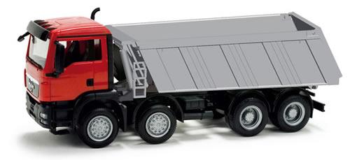 Herpa 158985 - MAN TGS M 8*4 dump truck