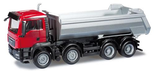 Herpa 159852 - MAN TGS M dump trailer 8x4