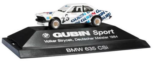 Herpa 174152 - BMW 635 CSi Extra Shop Gubin/Strycek