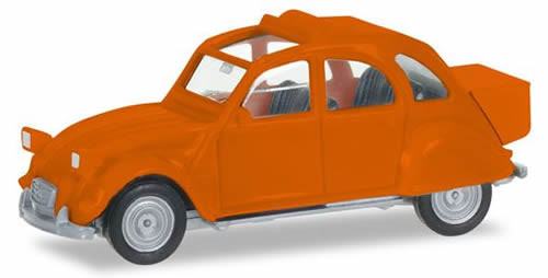 Herpa 27632 - Citroen 2CV With Backpack