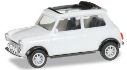 Herpa 28592 - Mini Cooper - Open, With Extra Lights