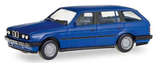 Herpa 28714 - BMW 3ER Touring Herpa, License Plates