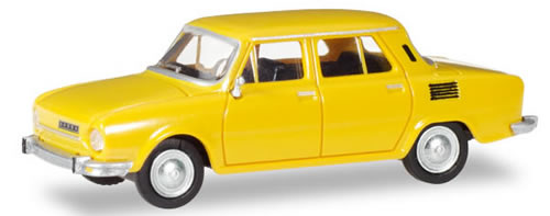 Herpa 28820 - Skoda 110 L Honey Yellow