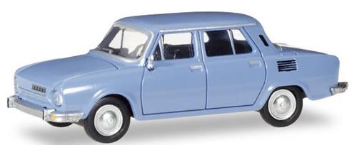 Herpa 28837 - Skoda 110 L Dove Blue