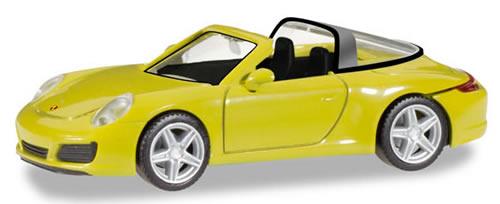Herpa 28868 - Porsche 911 Targa 4 Racing Yellow