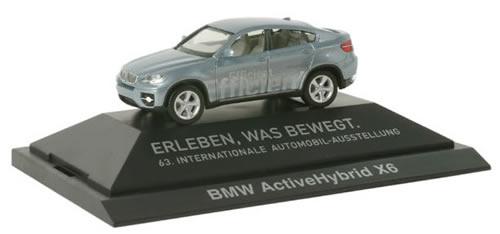 Herpa 293082 - BMW X6, Hybrid Energy (24.95) Extra Shop Iaa 2009