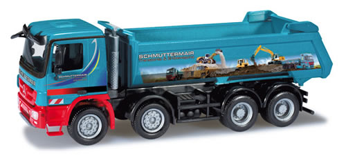Herpa 301190 - Mercedes-Benz Actros M dumptrailer Schmuttermair