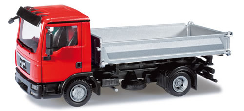 Herpa 301251 - MAN TGL ´08 dump truck