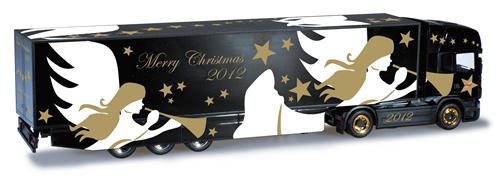Herpa 301381 - Scania R TL Semi (66.50) Christmas 2012