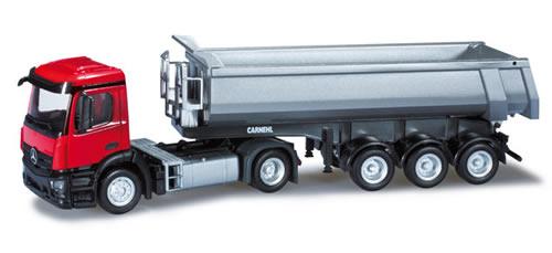 Herpa 301442 - Mercedes-Benz Antos S dump semitrailer