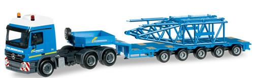 Herpa 303989 - Mercedes Actros, (87.50) Crane Top Felbermayr
