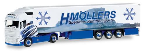 Herpa 306317 - Volvo FH Gl., Semi Mollers Transport