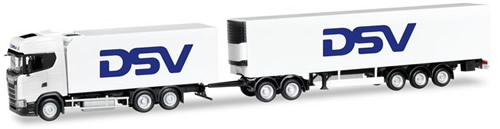 Herpa 306799 - Scania CS Reefer T/T DSV