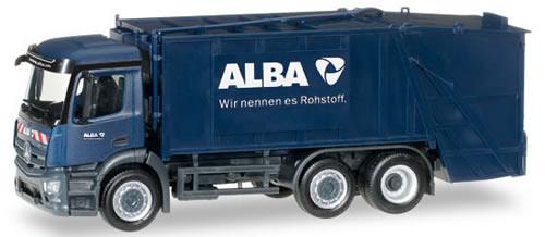 Herpa 306966 - Mercedes Actros ($ 55.95) Garbage Truck Alba