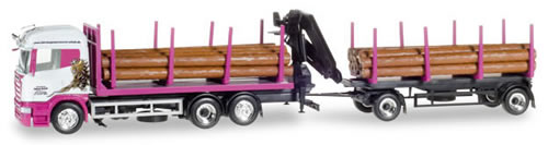 Herpa 307147 - Scania R ($ 83.95) Log T/T Scholz
