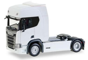 Herpa 307185 - Scania CR 20 HD White
