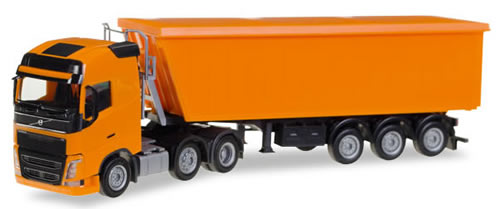 Herpa 307215 - Volvo FH FL 6X2 Dump Semi