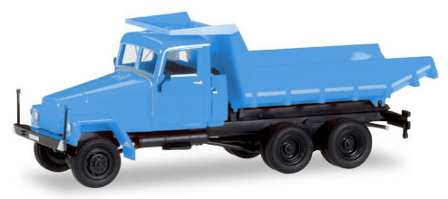 Herpa 307581 - Ifa G 5 Dump Truck Blue