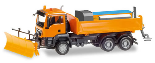 Herpa 307772 - MAN TGS 6X6 Winter Service Truck