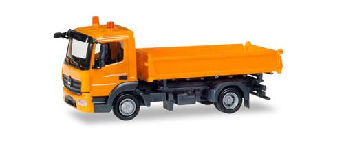Herpa 307857 - Mercedes Atego 3-Way Dump