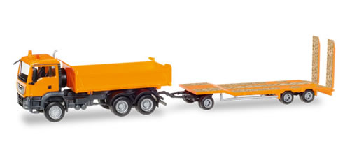 Herpa 307918 - MAN TGS Dump Truck/Trailer