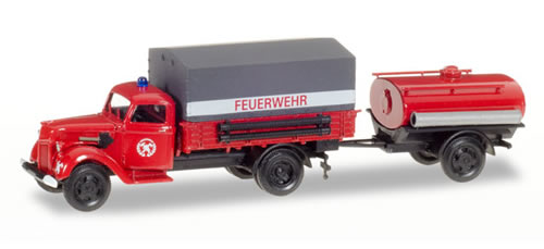 Herpa 307956 - Ford V 3000 T/T Fire Truck