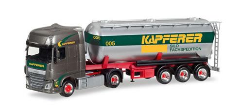 Herpa 308076 - DAF XF SSC Silo Semi Kapferer