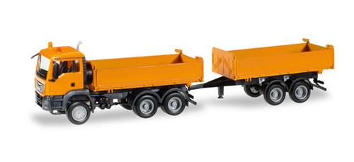 Herpa 308090 - MAN TGS M T/T Dumper
