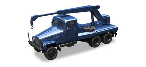 Herpa 308106 - Ifa G5 Cranetruck Blue
