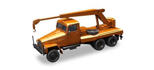 Herpa 308113 - Ifa G5 Cranetruck Orange