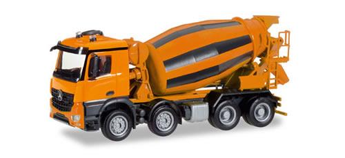 Herpa 308120 - Mercedes Arocs M Cement Truck