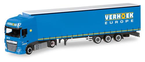 Herpa 308229 - DAF XF Semi Verhoek