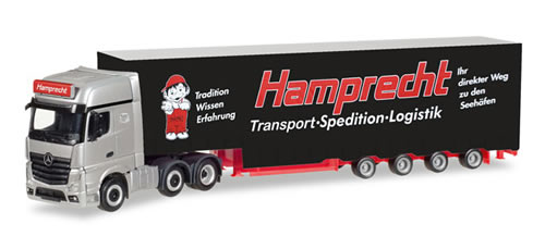 Herpa 308250 - Mercedes Actros Gigaspace Semi Hamprecht