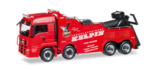 Herpa 308410 - MAN TGS LX Wrecker Kelpin