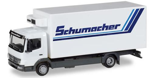 Herpa 308540 - Mercedes Atego Reefer Truck Schumacher