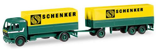 Herpa 308687 - Mercedes SK 88, Canvas T/T Schenker