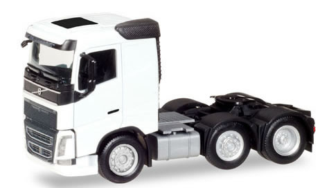 Herpa 308724 - Volvo FH Tractor, 3 Axle