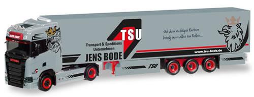 Herpa 308809 - Scania CS HD Reefer Semi Jens Bode/Tsu