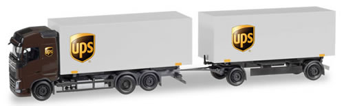 Herpa 308823 - Volvo FH T/T UPS