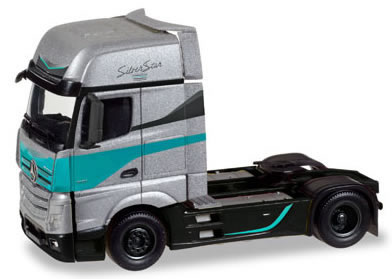 Herpa 308830 - Mercedes Actros Gigaspace Silver Star Edition